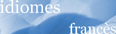 Idiomes. Francès