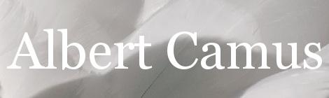 Albert Camus. Portada