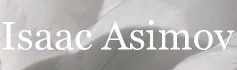 Isaac Asimov. Portada