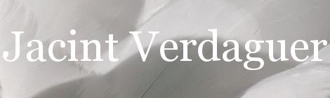 Jacint Verdaguer. Portada