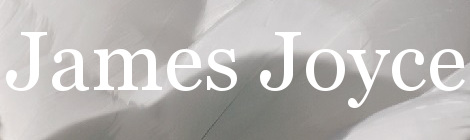James Joyce. Portada