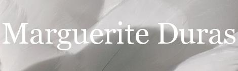 Marguerite Duras. Portada