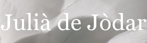 Julià de Jòdar. Portada
