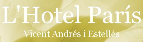 L'Hotel París. Portada