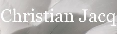 Christian Jacq. Portada