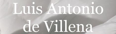 Luis Antonio de Villena. Portada