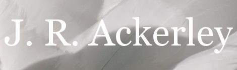 J. R. Ackerley. Portada