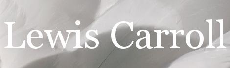 Lewis Carroll. Portada