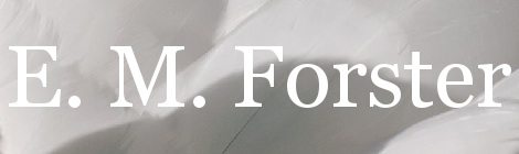E. M. Forster. Portada