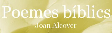 Poemes bíblics. Portada