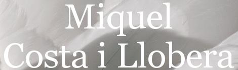 Miquel Costa i Llobera. Portada