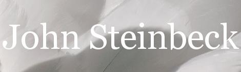 John Steinbeck. Portada