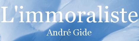 L'immoraliste. Portada