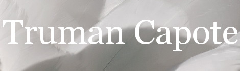 Truman Capote. Portada