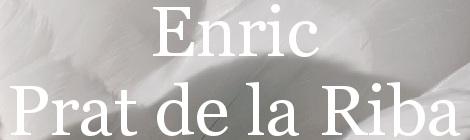 Enric Prat de la Riba. Portada