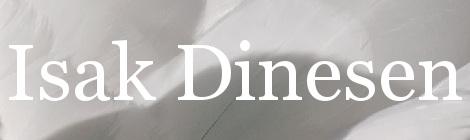 Isak Dinesen. Portada