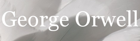 George Orwell. Portada