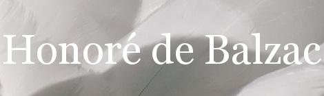 Honoré de Balzac. Portada