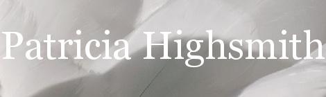 Patricia Highsmith. Portada