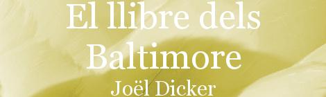 El llibre dels Baltimore. Portada