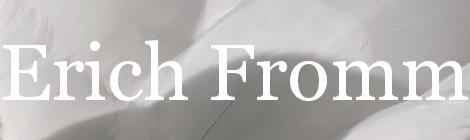 Erich Fromm. Portada