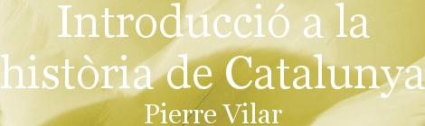 Indroducció a la història de Catalunya. Portada