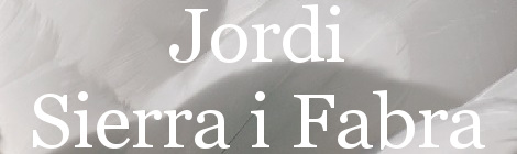 Jordi Sierra i Fabra. Portada