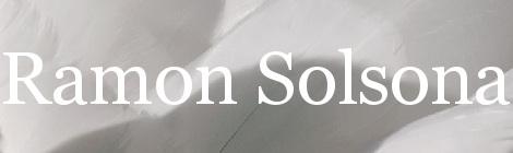 Ramon Solsona. Portada
