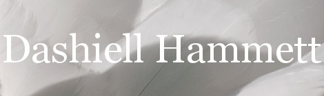 Dashiell Hammett. Portada
