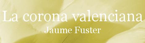 La corona valenciana. Portada