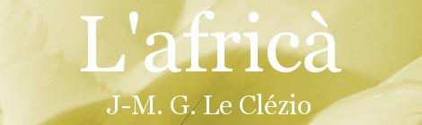L'africà. Portada