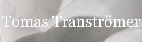 Tomas Tranströmer. Portada