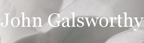 John Galsworthy. Portada