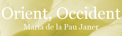 Orient, Occident. Portada