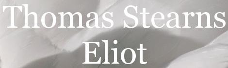 T. S. Eliot. Portada