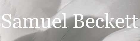 Samuel Beckett. Portada