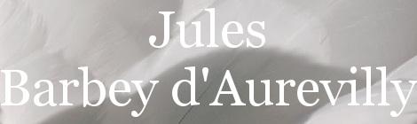 Jules Barbey d'Aurevilly. Portada